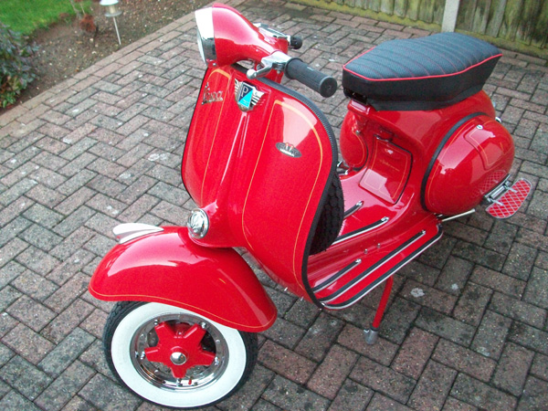 scooter painting in loughborough midlands including. Black Bedroom Furniture Sets. Home Design Ideas